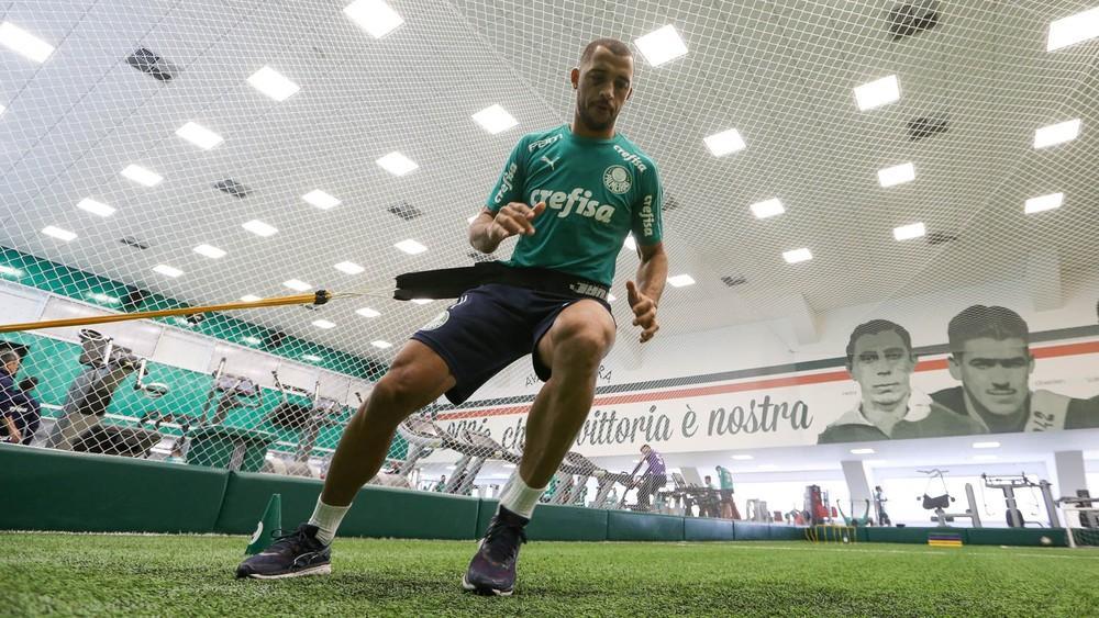 Palmeiras se reapresenta após dois dias de folga e faz trabalhos físicos na Academia de Futebol