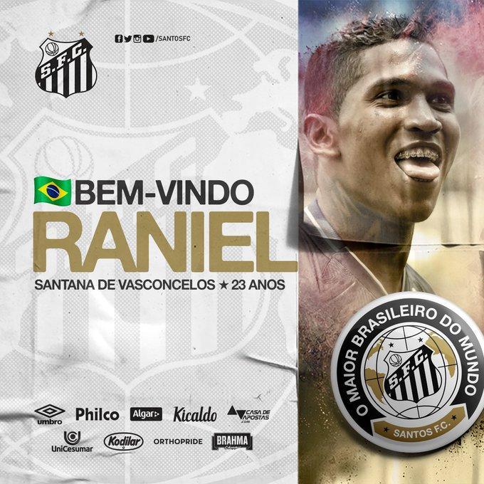 Santos e São Paulo acertam troca de Vitor Bueno por Raniel