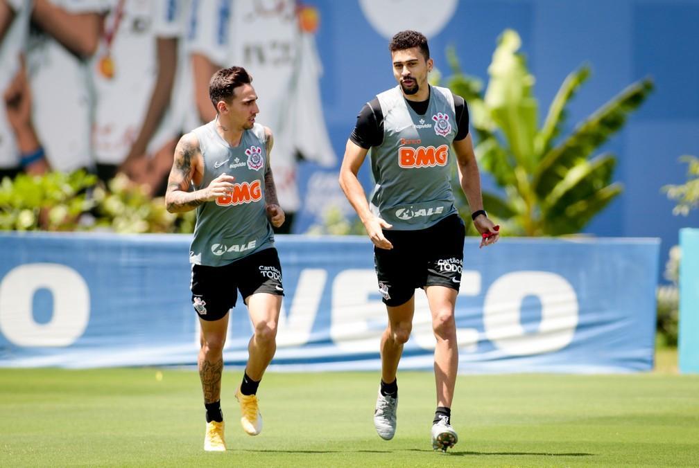 Corinthians se reapresenta após empate no Dérbi; em tratamento, Mosquito vai a campo